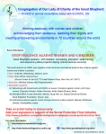 Flyer for Side Event during CSW 57
