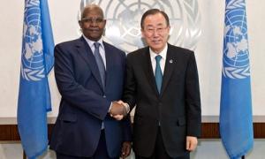 Secretary-Generalmeeting with H.E. Mr. Sam K. Kutesa, Minister for Foreign Affairs of Uganda.