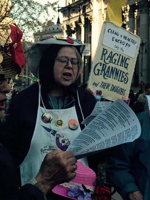 Raging Grannies and their Daughters